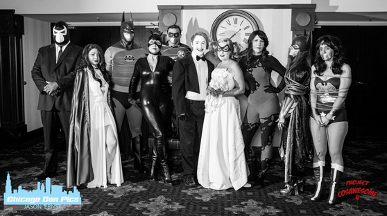 Harley Joker Wedding